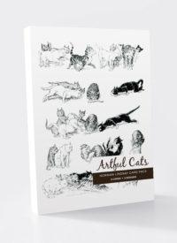Norman Lindsay Artful Cats Card Packs