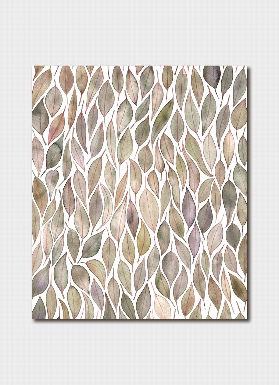 Floribund Eucalyptus Leaves