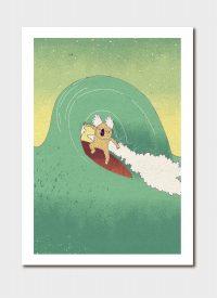Surfing Koala By Luka Va