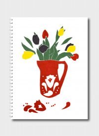 Pitcher of Tulips By Fleur Rendell