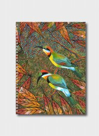 Rainbow Bee Eaters By Oral James Roberts