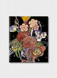 A Basket of Flowers By Charles Rennie Mackintosh